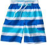 Jumping beans striped cargo swim trunks - boys 4-7x