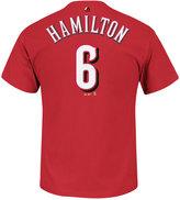 Majestic Men's Billy Hamilton Cincinnati Reds Player T-Shirt