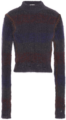 Acne Studios Ribbed Mohair-blend Sweater