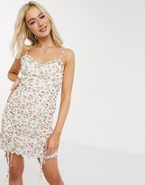 Oasis The East Order gina floral mini dress in floral