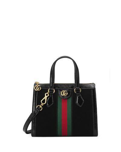d446631841fe Gucci Suede Tote Bags - ShopStyle