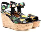 Dolce & Gabbana Cork wedge sandals