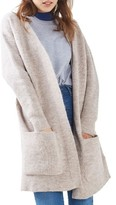 Topshop Women's Oversize Pocket Cardigan