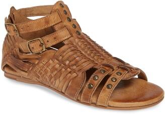 Bed Stu Claire Woven Gladiator Sandal