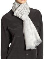 Gucci GG Pattern Wool Scarf