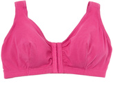 Leading Lady Rose Cotton Front-Closure Wireless Comfort Bra - Plus Too