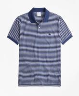 Brooks Brothers Slim Fit Oxford Stripe Polo Shirt