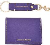 Dooney & Bourke As Is Carpenter Key Chain w/ 2 Fold Card Case