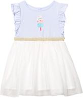 Billieblush Pale Blue Ice Lolly Print Tutu Dress