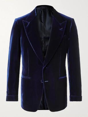 Tom Ford Shelton Slim-Fit Velvet Tuxedo Jacket