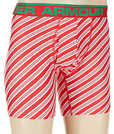 "Under Armour Original Christmas Striped 6"" Boxerjocks"
