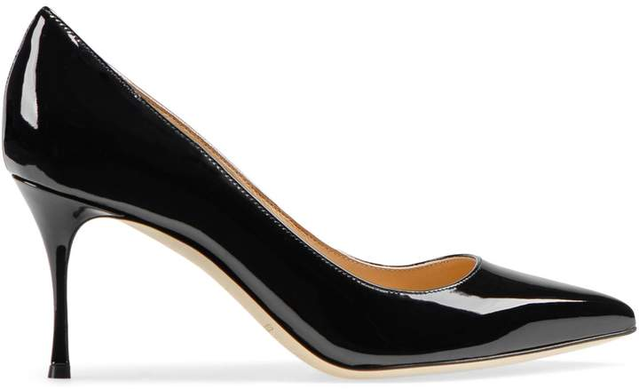 Sergio Rossi Godiva Leather Pumps