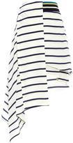 Preen by Thornton Bregazzi Turkana breton-striped silk skirt