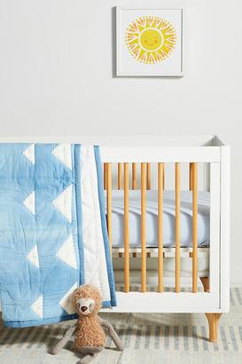 Anthropologie Indigo-Dyed Kids Quilt By in Blue Size Td quilt