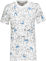 Carven Printed stretch-cotton T-shirt