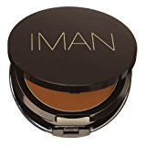 Iman Second To None Cream To Powder Foundation, Dark Skin, Earth 3