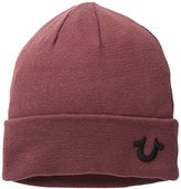 True Religion Men's Knit Cotton Watchcap