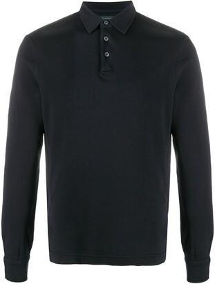 Zanone Long-Sleeved Polo Shirt