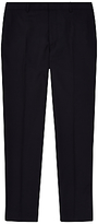 Jaeger Plain Twill Suit Trousers, Navy