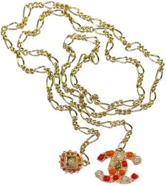 Chanel Metallic Metal Necklaces