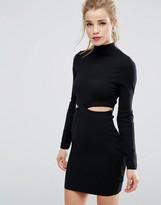New Look Cut Out Jumper Dress
