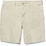 Burberry Cotton-poplin Chino Shorts - Beige