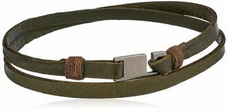 Griffin Army Legend Leather Double Wrap Bracelet