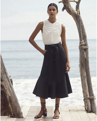 G. Label Diane A-Line Peplum Skirt