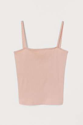 H&M Ribbed Tank Top