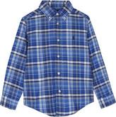 Ralph Lauren White Checked Stylish Cotton Shirt 2-7 Years