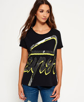 Superdry 3D Crew Neck Boyfriend T-shirt