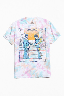 Urban Outfitters Pink Floyd Wish You Were Here Tie-Dye Tee