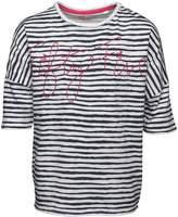Original Penguin Junior Girls Stripe T-Shirt Nocturnal