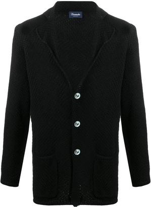 Drumohr Single Breasted Knitted Blazer