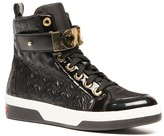 Love Moschino Embroidered Print Sneaker