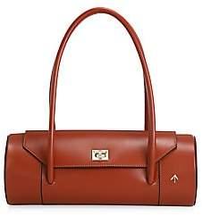 Atelier Manu Women's London Leather Barrel Bag