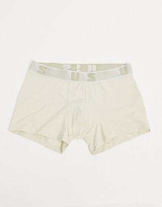 ASOS Unrvlld Supply trunks in beige
