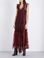 Opening Ceremony Glitter-embellished tulle dress