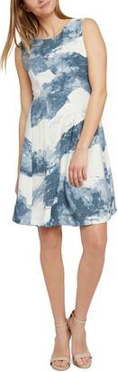 Nic+Zoe Seaside Sleeveless A-Line Dress