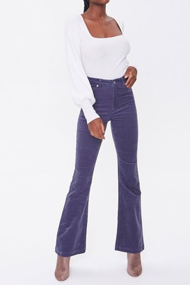 Forever 21 Flare Corduroy Pants