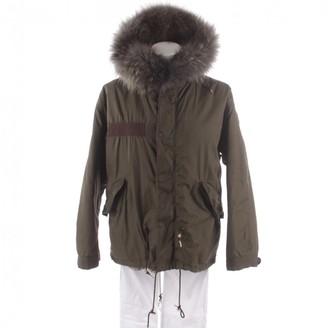Mr & Mrs Furs Green Synthetic Coats