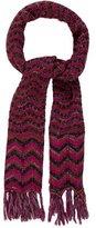 Missoni Chevron Knit Scarf w/ Tags