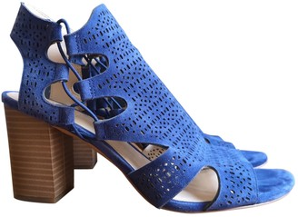 Vince Camuto Blue Leather Sandals