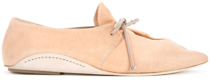 Marsèll pointed toe lace-up shoes