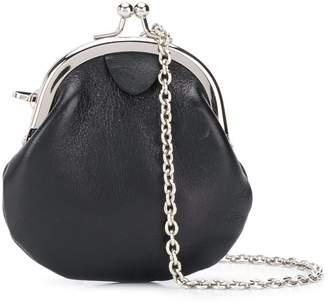 Yohji Yamamoto Pre Owned 2000s kiss lock chain coin purse