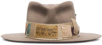 Nick Fouquet Bohemia wool wide brim hat