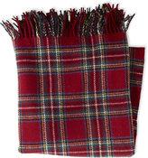 """L.L. Bean Bean's Washable Wool Throw, Plaid 54"""" x 60"""""""
