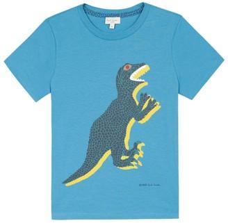 Paul Smith Cotton Dino Print T-Shirt (2-16 Years)