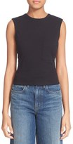 Alexander Wang Women's Open Back Twist Jersey Tank