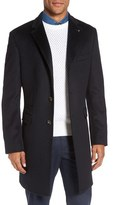 Ted Baker Men's Alaska Trim Fit Wool & Cashmere Overcoat